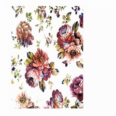 Texture Pattern Fabric Design Large Garden Flag (two Sides) by BangZart