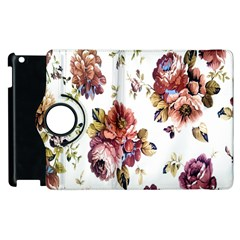 Texture Pattern Fabric Design Apple Ipad 2 Flip 360 Case by BangZart