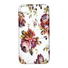 Texture Pattern Fabric Design Apple Iphone 4/4s Hardshell Case With Stand by BangZart