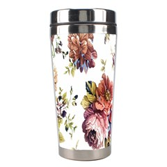 Texture Pattern Fabric Design Stainless Steel Travel Tumblers by BangZart