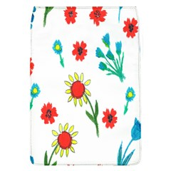 Flowers Fabric Design Flap Covers (l)