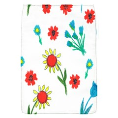 Flowers Fabric Design Flap Covers (s)  by BangZart