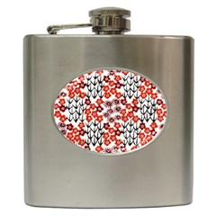 Simple Japanese Patterns Hip Flask (6 Oz)