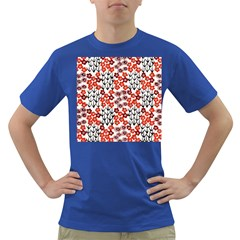 Simple Japanese Patterns Dark T Shirt