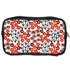 Simple Japanese Patterns Toiletries Bags by BangZart