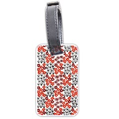 Simple Japanese Patterns Luggage Tags (one Side)
