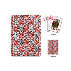 Simple Japanese Patterns Playing Cards (Mini)