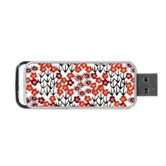 Simple Japanese Patterns Portable Usb Flash (two Sides) by BangZart