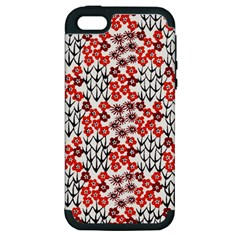 Simple Japanese Patterns Apple Iphone 5 Hardshell Case (pc+silicone) by BangZart