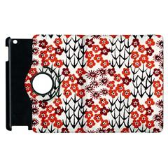 Simple Japanese Patterns Apple Ipad 3/4 Flip 360 Case by BangZart