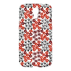 Simple Japanese Patterns Samsung Galaxy S4 I9500/i9505 Hardshell Case by BangZart