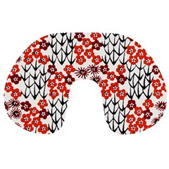 Simple Japanese Patterns Travel Neck Pillows