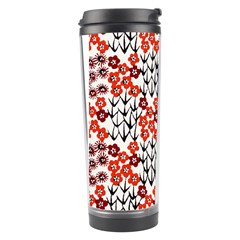 Simple Japanese Patterns Travel Tumbler by BangZart