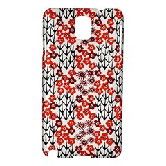 Simple Japanese Patterns Samsung Galaxy Note 3 N9005 Hardshell Case by BangZart