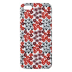 Simple Japanese Patterns Iphone 5s/ Se Premium Hardshell Case by BangZart