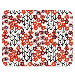 Simple Japanese Patterns Double Sided Flano Blanket (medium)  by BangZart
