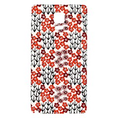 Simple Japanese Patterns Galaxy Note 4 Back Case by BangZart
