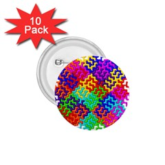 3d Fsm Tessellation Pattern 1 75  Buttons (10 Pack) by BangZart