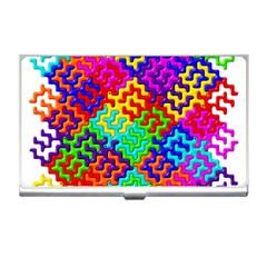 3d Fsm Tessellation Pattern Business Card Holders by BangZart
