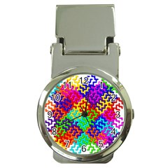 3d Fsm Tessellation Pattern Money Clip Watches