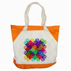 3d Fsm Tessellation Pattern Accent Tote Bag by BangZart