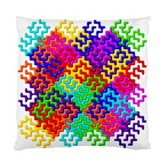 3d Fsm Tessellation Pattern Standard Cushion Case (one Side) by BangZart