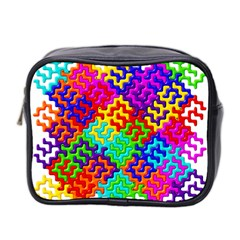 3d Fsm Tessellation Pattern Mini Toiletries Bag 2 Side by BangZart