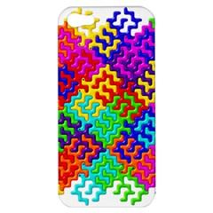 3d Fsm Tessellation Pattern Apple Iphone 5 Hardshell Case