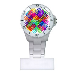 3d Fsm Tessellation Pattern Plastic Nurses Watch