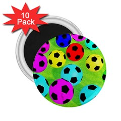 Balls Colors 2 25  Magnets (10 Pack)