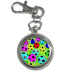 Balls Colors Key Chain Watches
