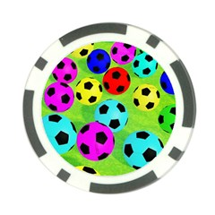 Balls Colors Poker Chip Card Guard