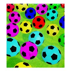 Balls Colors Shower Curtain 66  X 72  (large)