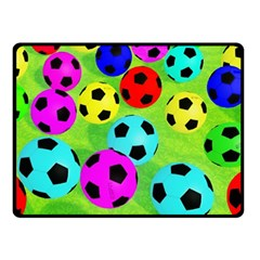 Balls Colors Fleece Blanket (small)