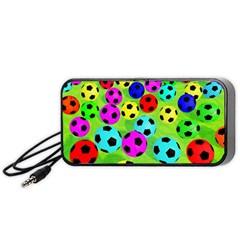 Balls Colors Portable Speaker (black)