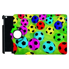 Balls Colors Apple Ipad 2 Flip 360 Case by BangZart