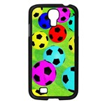 Balls Colors Samsung Galaxy S4 I9500/ I9505 Case (Black) Front