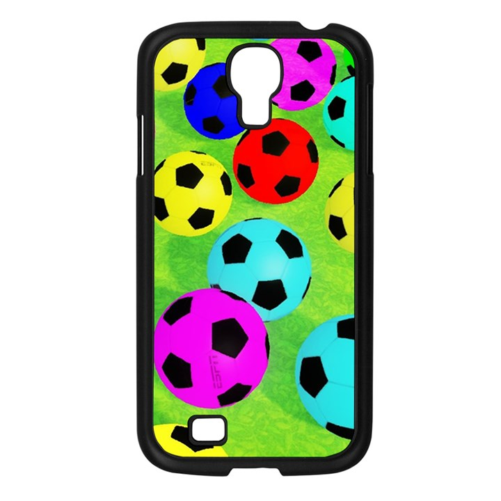 Balls Colors Samsung Galaxy S4 I9500/ I9505 Case (Black)