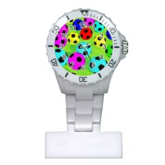 Balls Colors Plastic Nurses Watch by BangZart