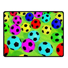 Balls Colors Double Sided Fleece Blanket (small)  by BangZart