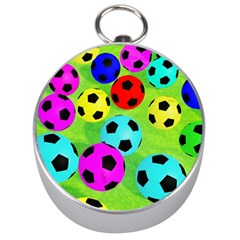 Balls Colors Silver Compasses