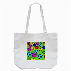 Balls Colors Tote Bag (white)