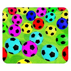 Balls Colors Double Sided Flano Blanket (small)  by BangZart