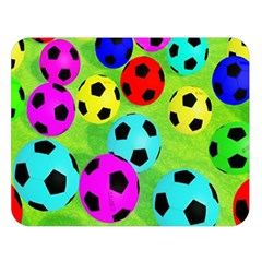 Balls Colors Double Sided Flano Blanket (large)  by BangZart