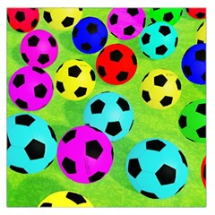 Balls Colors Large Satin Scarf (square) by BangZart