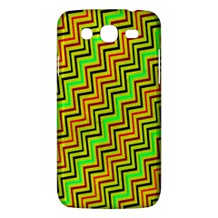 Green Red Brown Zig Zag Background Samsung Galaxy Mega 5 8 I9152 Hardshell Case