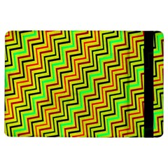 Green Red Brown Zig Zag Background Ipad Air Flip by BangZart