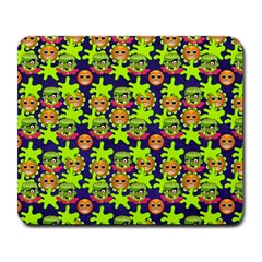 Smiley Monster Large Mousepads