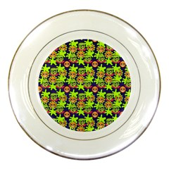 Smiley Monster Porcelain Plates by BangZart