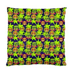 Smiley Monster Standard Cushion Case (one Side)